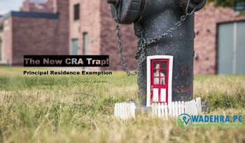 CRA Principal Residence