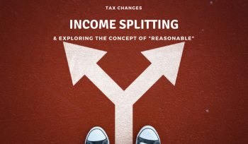 Income Splitting Reasonable